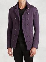 John Varvatos Linen Cutaway Jacket
