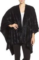 Natori Women's Faux Fur Wrap