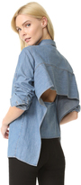 Cheap Monday Airy Denim Shirt