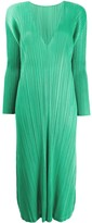 Pleats Please Issey Miyake December pleated dress