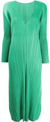 Pleats Please Issey Miyake December pleated dress
