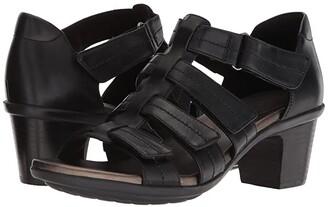 Aravon Medici II Gladiator (Black) Women's Shoes