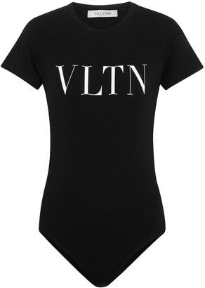 Valentino VLTN stretch-cotton jersey bodysuit