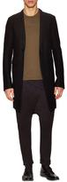 Rick Owens Virgin Wool Buttoned Coat