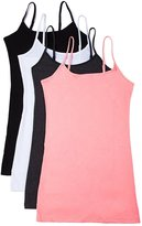 Active Products 4 Pack: Active Basic Cami Tanks in Many Colors