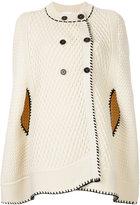 Sonia Rykiel double breasted cape coat