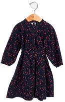 Little Marc Jacobs Girls' Floral Print A-Line Dress