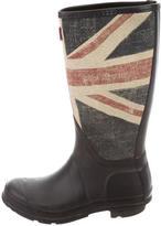 Hunter Boys' Flag Printed Rain Boots