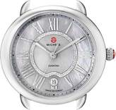 Michele Women's MW21B00A0061 Serein 16 Analog Display Swiss Quartz Silver Watch Head
