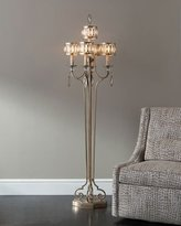 John-Richard Collection FACETED MARQUIS CRYSTAL FLOO