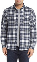 Nordstrom Men's Thermal Lined Plaid Flannel Shirt