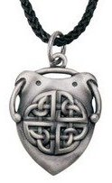 Summit Celtic Shield Pendant Collectible Medallion Necklace Accessory Jewelry
