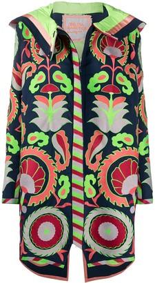 Yuliya Magdych Embroidered Hooded Coat