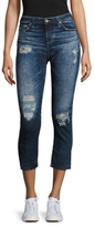 AG Adriano Goldschmied Stilt Distressed Cigarette Leg Jean