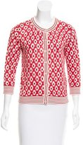Kate Spade Printed Button Up Cardigan