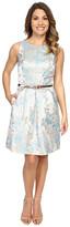 Tahari by Arthur S. Levine Petite Joshua-Z Belt Dress
