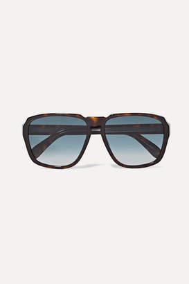 Givenchy Oversized Square-frame Tortoiseshell Acetate Sunglasses
