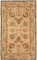 Safavieh Anatolia Collection AN512A Handmade Beige Wool Area Rug, 4 feet by 6 feet