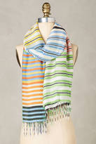 Anthropologie Bold Stripes Scarf