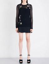 RED Valentino Maglia wool mini dress