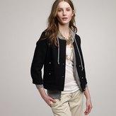 Wool piqué sultana jacket