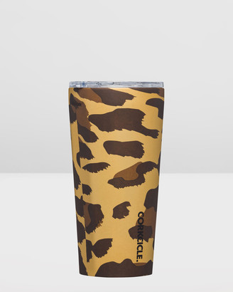 Corkcicle Insulated Stainless Steel Tumbler 475ml Luxe Leopard