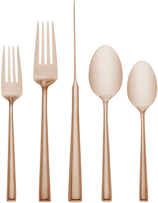 Kate Spade 5-Piece Malmo Gold Flatware Place Setting