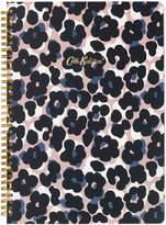 Cath Kidston Leopard Flower A4 Spiral Bound Notebook
