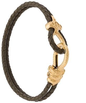 Nialaya Jewelry braided double wrap bracelet