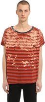 Faith Connexion Destroyed & Bleached Jersey T-Shirt