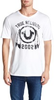 True Religion V-Neck Logo Tee