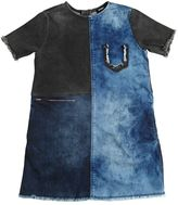 Diesel Bicolor Stretch Denim Dress