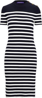 Ralph Lauren Stretch Silk Jumper Dress