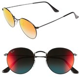 Ray-Ban 'Icons' 50mm Round Sunglasses