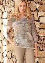 Kaleidoscope Printed Sweater