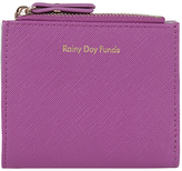 Accessorize Rainy Days Slogan Mini Wallet