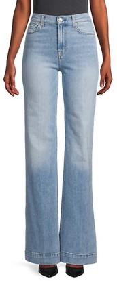 7 For All Mankind Modern Dojo High-Rise Flare Jeans