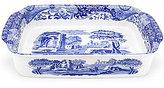 Spode Blue Italian Rectangular Baker