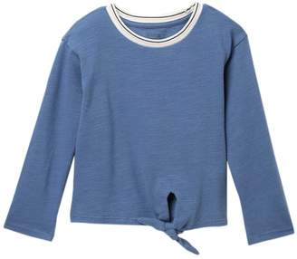 Harper Canyon Tie Front Sporty Tee (Toddler, Little Girls, & Big Girls)