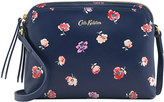 Cath Kidston Mallory Sprig Printed Leather Duo Cross Body