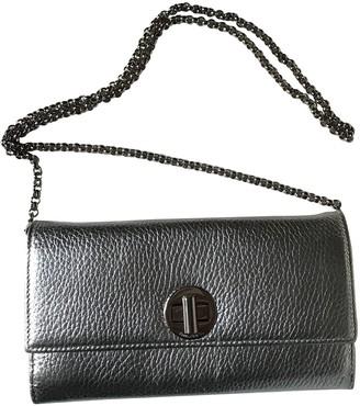 Tiffany & Co. \N Silver Leather Clutch bags