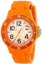 L by ELLE Women's LE50007P07 Orange Plastic Orange Color Bezel Watch