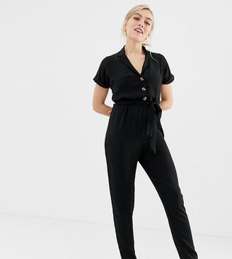 New Look petite jumpsuit in black