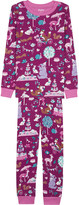 Hatley Enchanted tea party organic cotton pyjama set