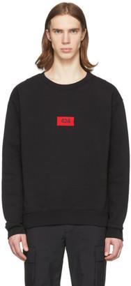424 Black Logo Sweatshirt