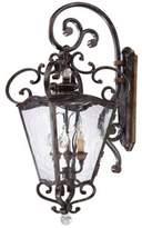 Metropolitan® 3-Light Outdoor Lantern in Terraza Villa Aged Patina