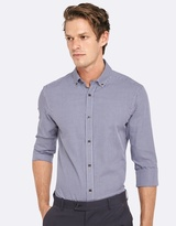 Oxford Stratton Mini Check Shirt