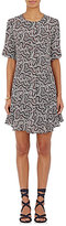 A.L.C. Women's Aerin Floral Silk Shirtdress
