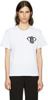 Emilio Pucci White Embroidered Logo T-Shirt