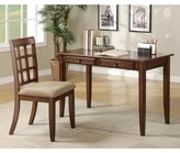 Keeton Wooden 2 Piece Writing Desk Set Winston Porter Color: Brown